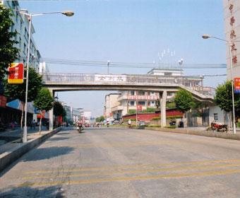 2003年捐建梅州中學行人天橋