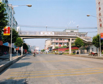2003 Donation for the construction of Meizhou Middle School Pedestrian Overpass